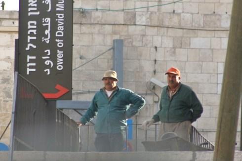 Diskriminiert? Arabische Bauarbeiter in Jerusalem
